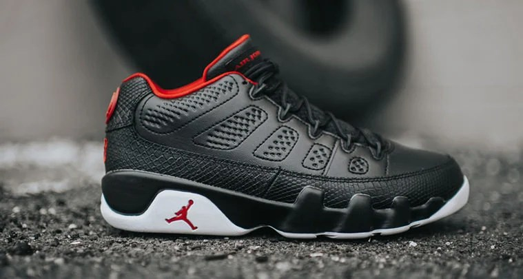 Will the Air Jordan 9 Low Black White Be Your Favorite Summer Shoe ... df4eb387a7