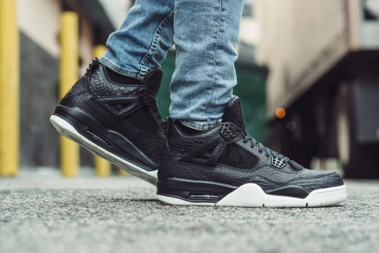 Air Jordan 4 Premium On-Foot Look