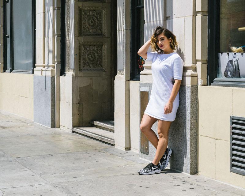 On Foot Look Nike Air Max 1 Jacquard BlackWhite | Nice Kicks