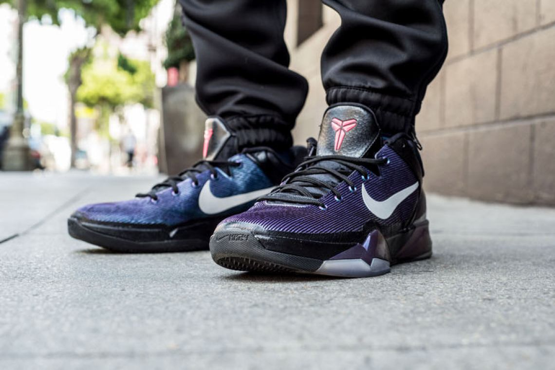 "Nike Zoom Kobe VII ""Invisibility Cloak"" On-Foot Look"