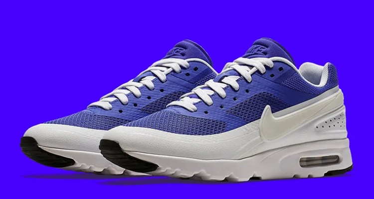 4311eb148a ... Max Classic Bw Regal Blue Navy Blue White 1992; Nike Air Classic BW  Ultra Persian Violet White ...