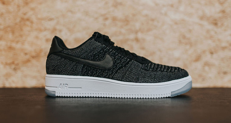 40d653b79961 This Nike Air Force 1 Ultra Flyknit Low Black Dark Grey is Available ...