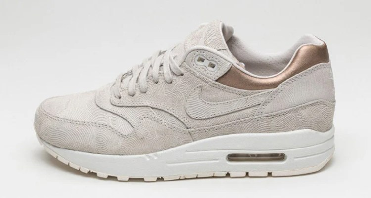 """outlet store 6a752 d4ee5 This Nike Air Max 1 PRM """"Gamma Grey"""" is for the Ladies"""