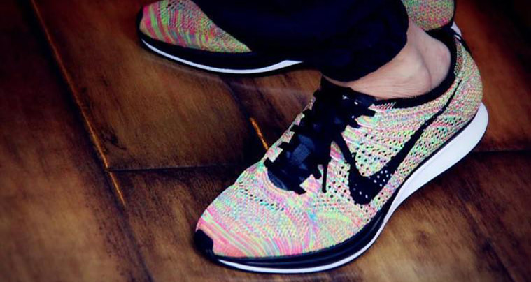 """new product 24a9a f89a2 Nike Flyknit Racer """"Multicolor 2016""""    Release Date"""