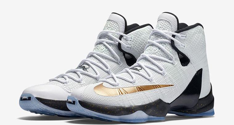 Nike LeBron 13 Elite Metallic Gold