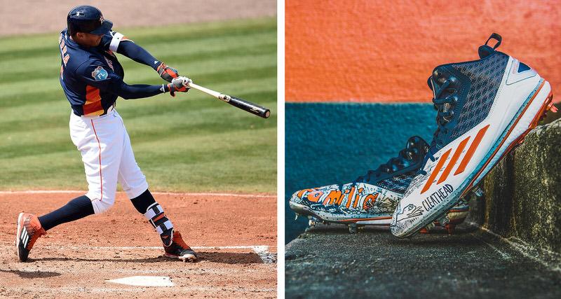 eaacb352214 Carlos Correa Talks adidas Deal   Being Baseball s First