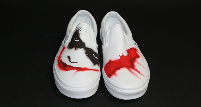 "timeless design 19f37 60209 ... Nike Kickasso Joker  Kickasso Celebrates Heath Ledger s 37th Birthday  with ""Joker"" Custom ..."