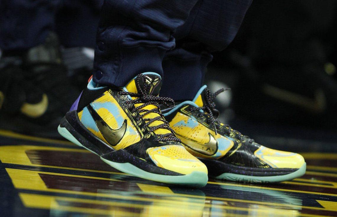 Kyrie Irving's Nike Zoom Kobe V Prelude