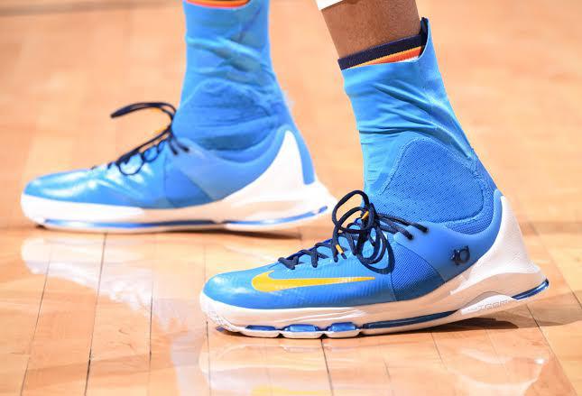 Kevin Durant's Nike KD 8 Elite