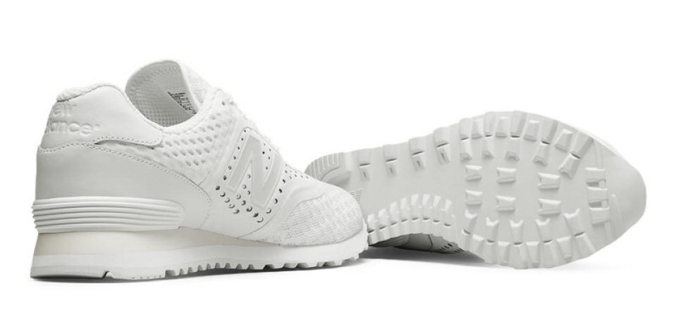 new style efe71 fc451 New Balance 574 Re-Engineered Breathe Goes All White | Nice ...