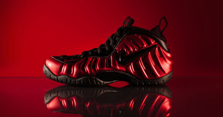 "new products 56d93 67246 Nike Air Foamposite Pro ""University Red"" Releases This Weekend"