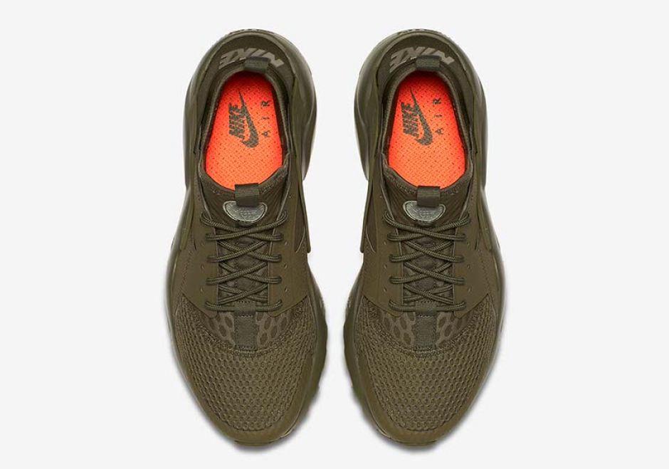 buy popular 0e648 9868b ... Nike Air Huarache Ultra BR Military Green