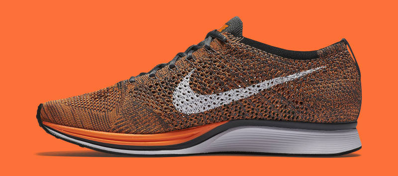 b6318278347f2 Nike Flyknit Racer Total Orange 2016 Nike Flyknit Racer Total Orange 2016