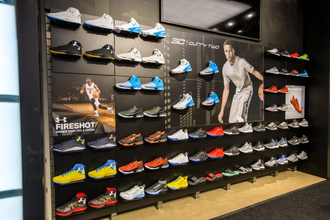 af035a7a10a Under Armour and Champs Sports Bring Sneakerheads Back to the Mall ...