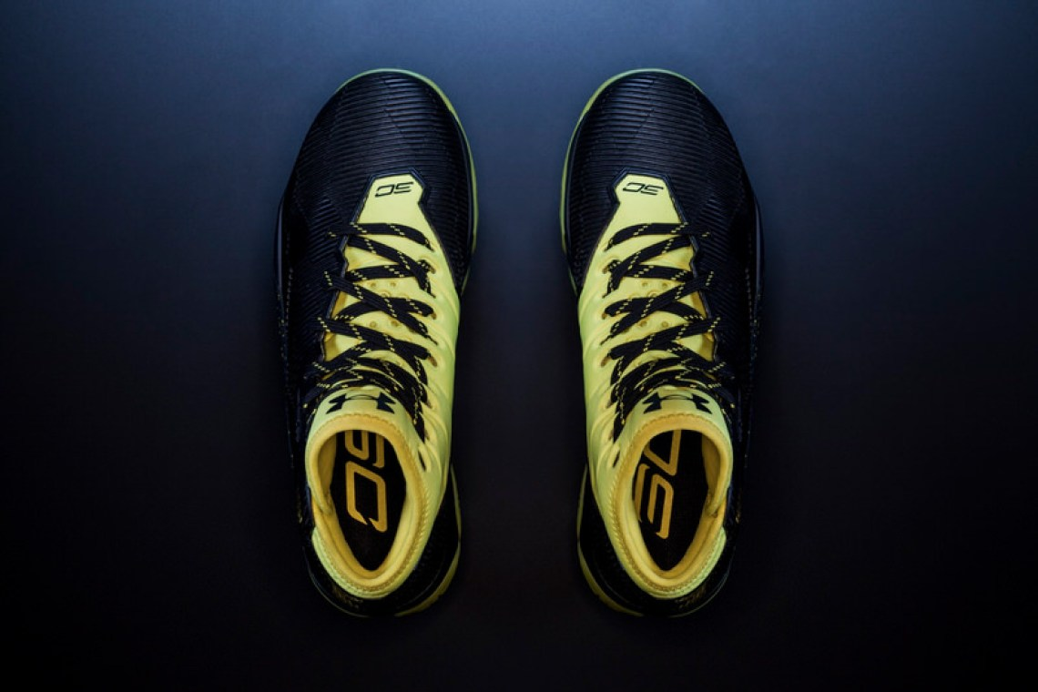 Under Armour Curry 2.5 Black Taxi