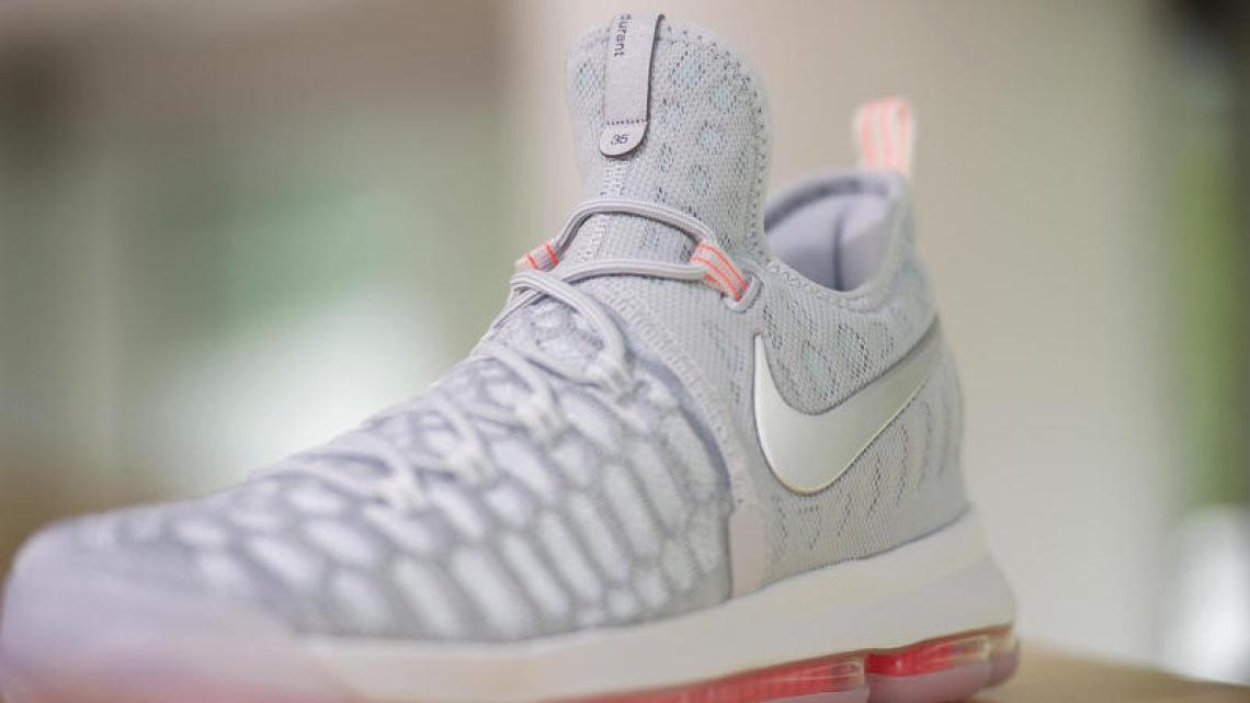 "Nike KD9 ""Grey Preheat"""