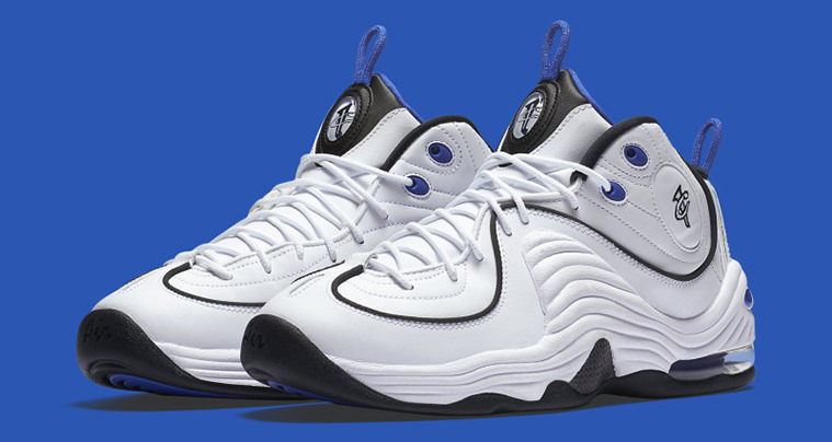 2eda45969d4c88 Nike Air Penny 2 White Varsity Blue    Available Now