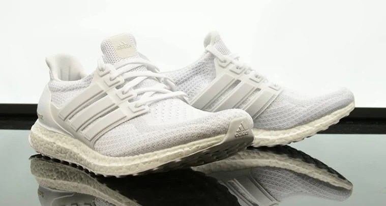 "reputable site df9b6 9853f The adidas Ultra Boost ""Triple White 2.0"" is Available Now"