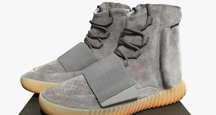 brand new 999de 5ea19 adidas Yeezy Boost 750 Grey/Gum // Another Look | Nice Kicks