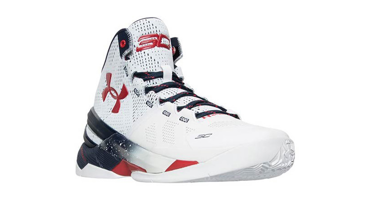 "Under Armour Curry 2 ""Olympic"" // Release Date"