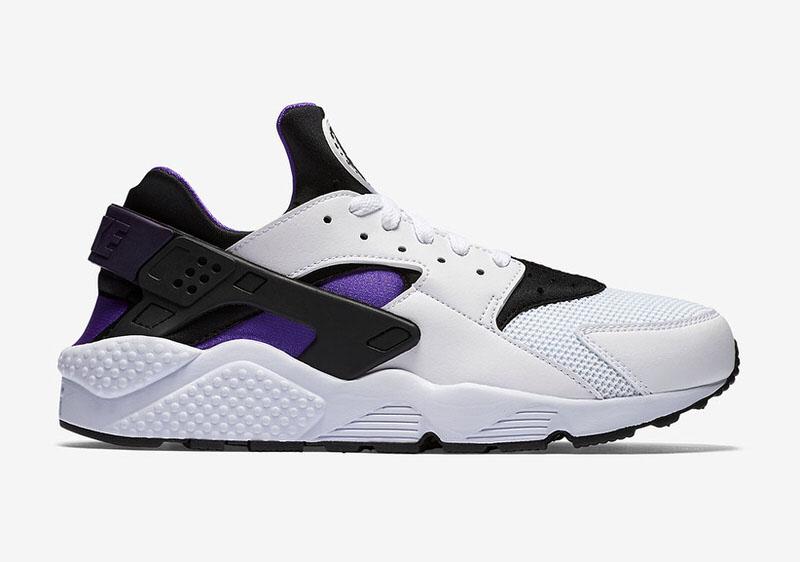 nike air huarache purple