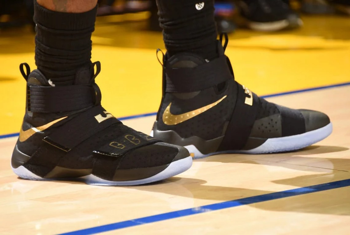 e0520e6480b Every Shoe LeBron James Has Worn In The NBA Finals    Kicks On Court ...