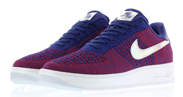 reputable site 1c227 beb87 The Nike Air Force 1 Flyknit Low Goes Americana with
