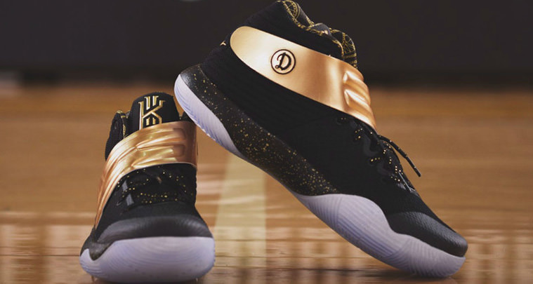 d878bea704e This Nike Kyrie 2 iD Was Gifted to the Drew League Champions