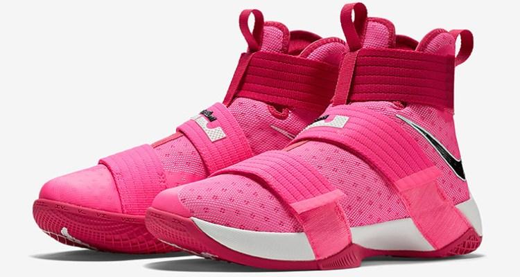 Nike LeBron Solider 10 Think Pink