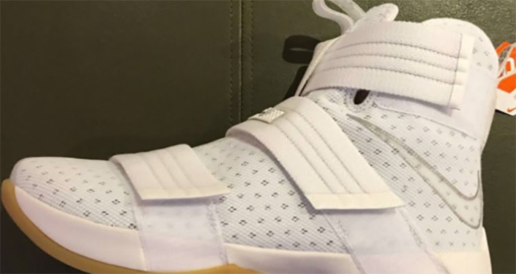 Nike LeBron Solider 10 White Gum