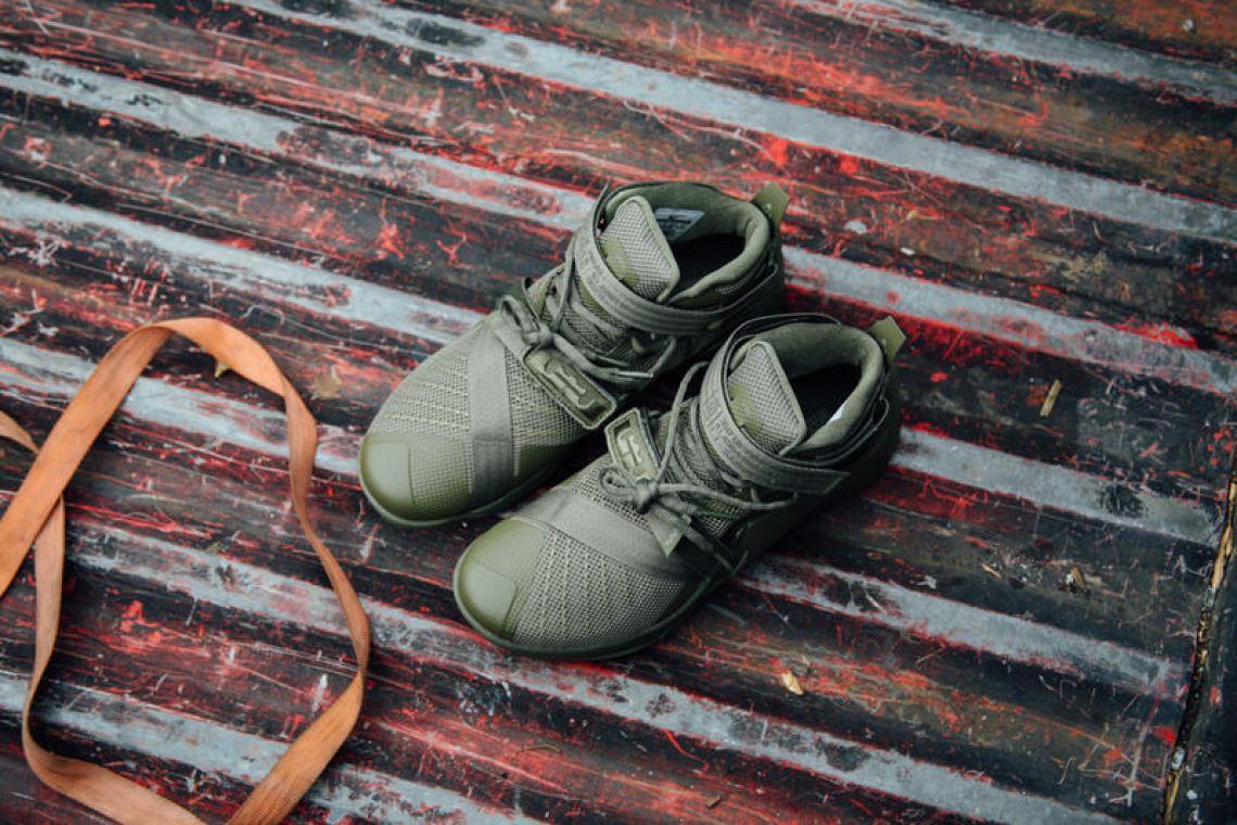 5d0fa9addfe Nike LeBron Solider 9 Medium Olive Nike LeBron Solider 9 Medium Olive