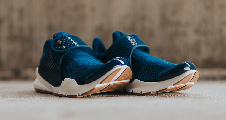 watch 4a31d 3a2c9 Nike Sock Dart Updated with Gum Soles