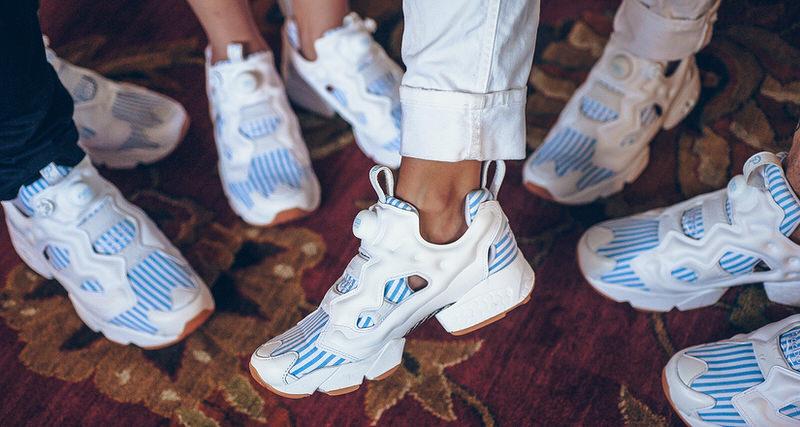 "4f87ca2d27d Sneaker Politics x Reebok Insta Pump Fury ""Seersucker Thursday""     Available Now"