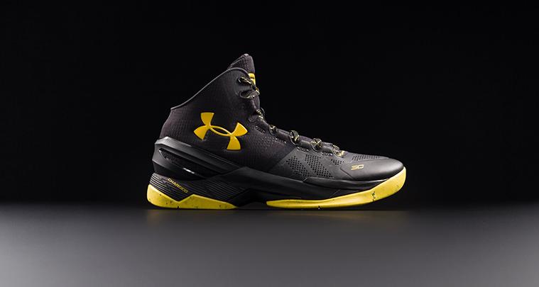 Under Armour Curry Two Black Knight