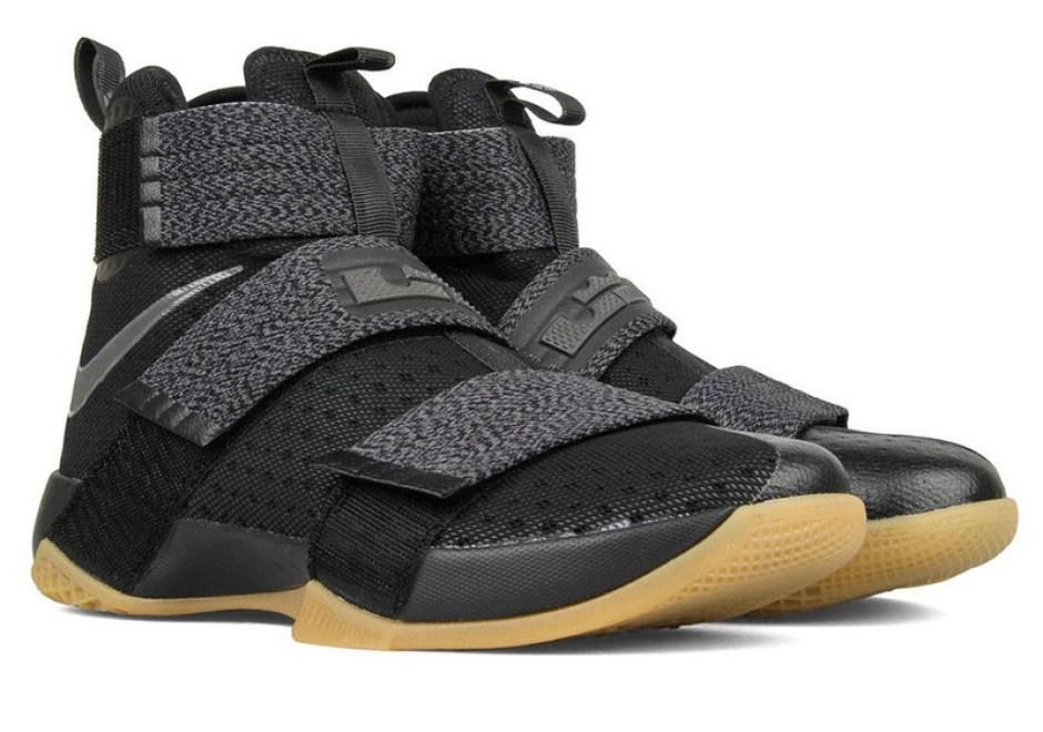 Nike LeBron Soldier 10 Black Gum