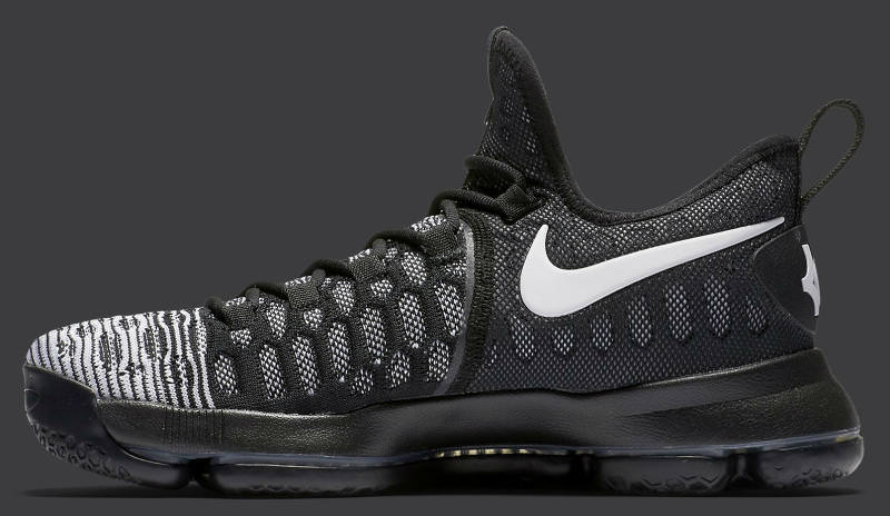 the latest 23d71 428da ... 843392 010 black white flight club b547e f5b02  best price nike kd 9  oreo nike kd 9 oreo beec1 a3e2a