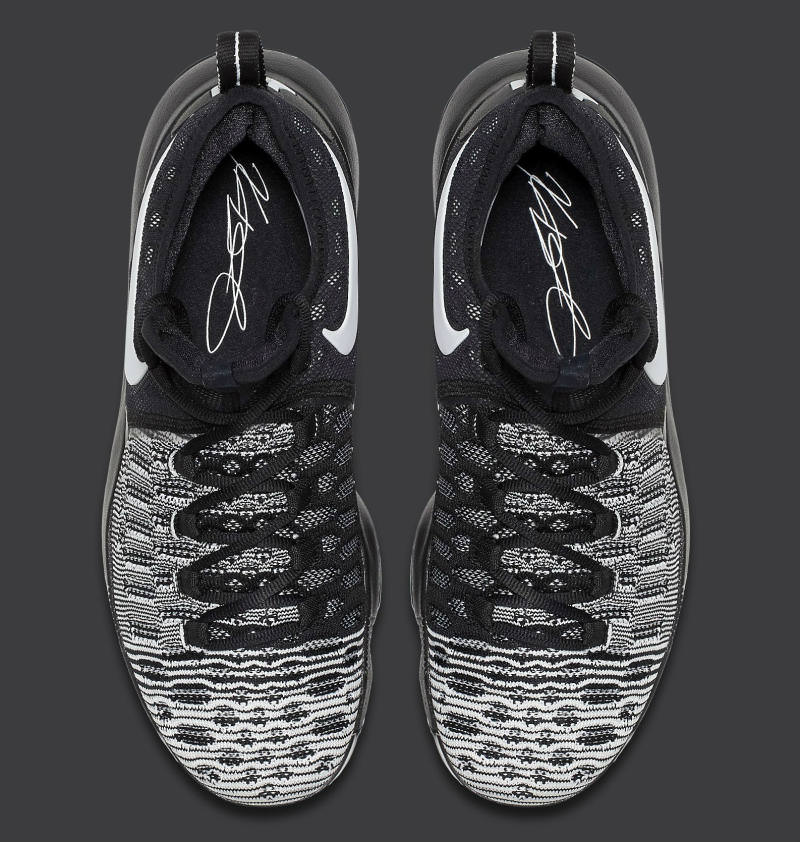 best sneakers 26a5a 27d85 ... best price nike kd 9 oreo nike kd 9 oreo beec1 a3e2a