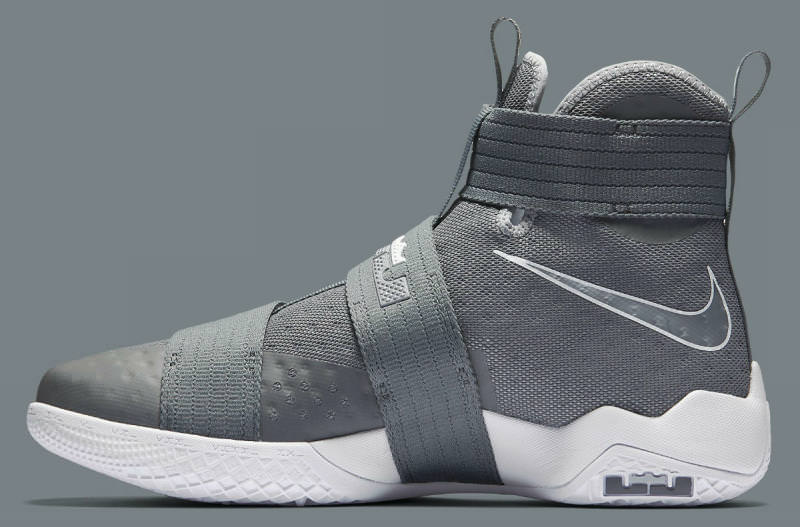 "pretty nice 7ce30 41a25 Nike LeBron Soldier 10 ""Cool Grey"" ..."