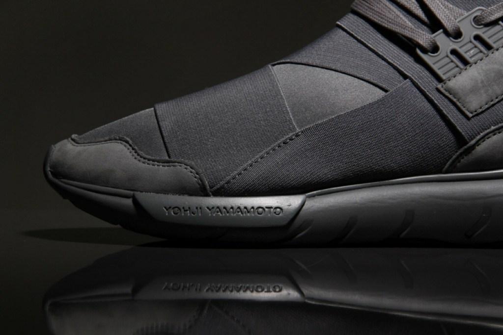 adidas y3 qasa high vista grey nice kicks. Black Bedroom Furniture Sets. Home Design Ideas