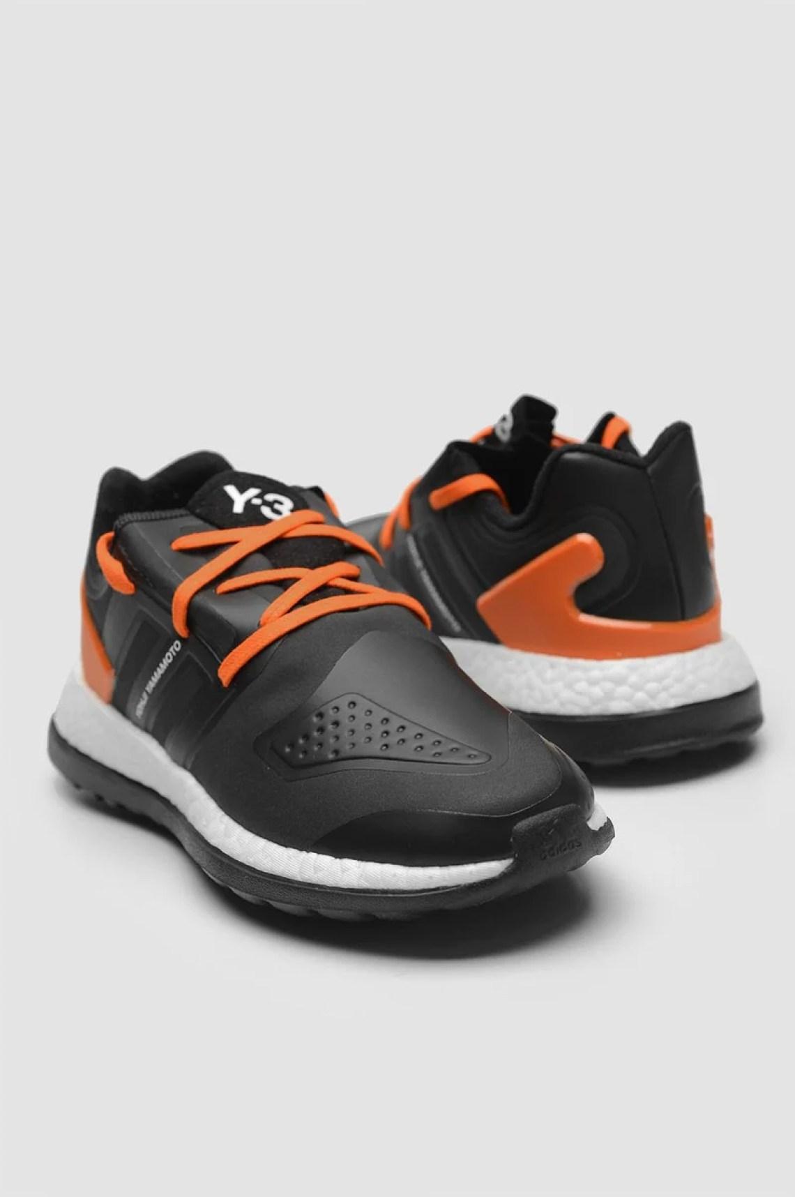 adidas Y-3 Pure Boost ZG Black/Orange