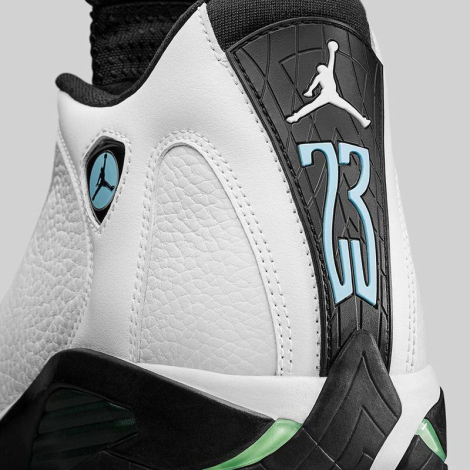 Air Jordan 14 Oxidized Green