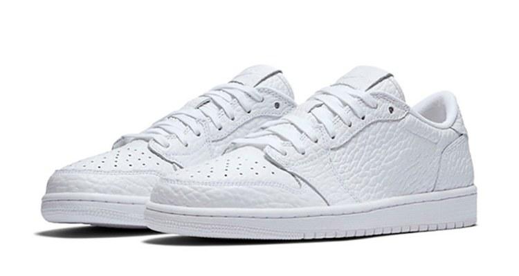 """9528fe4253d Air Jordan 1 Low No Swoosh """"Triple White"""" // Coming Soon"""