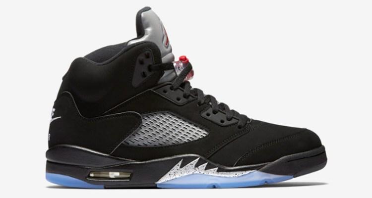Air Jordan 5 Black/Metallic