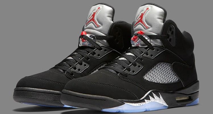 Air Jordan 5 OG Black/Metallic