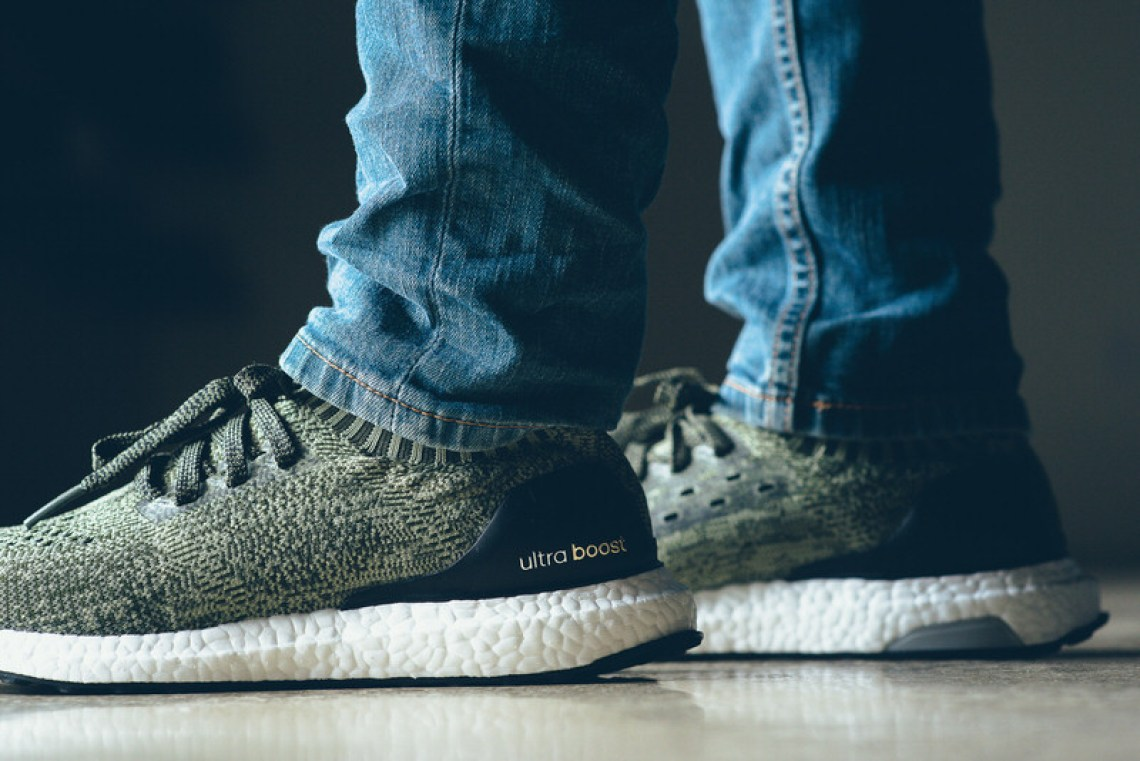 adidas ultra boost uncaged olive green nice kicks. Black Bedroom Furniture Sets. Home Design Ideas
