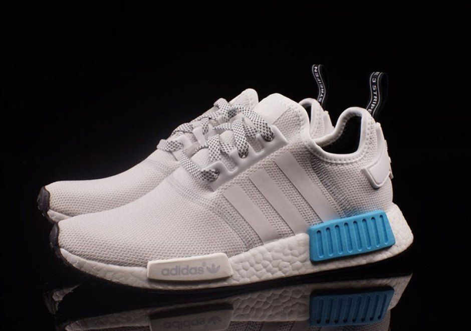 adidas NMD R1 Triple White Colour Boost Pack The Sole Supplier
