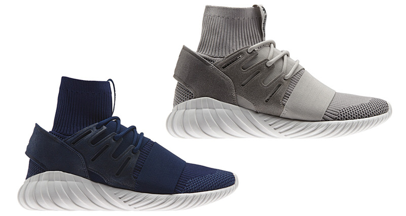 new arrival 78831 d9600 adidas Tubular Doom Primeknit Set to Drop in Navy   Grey