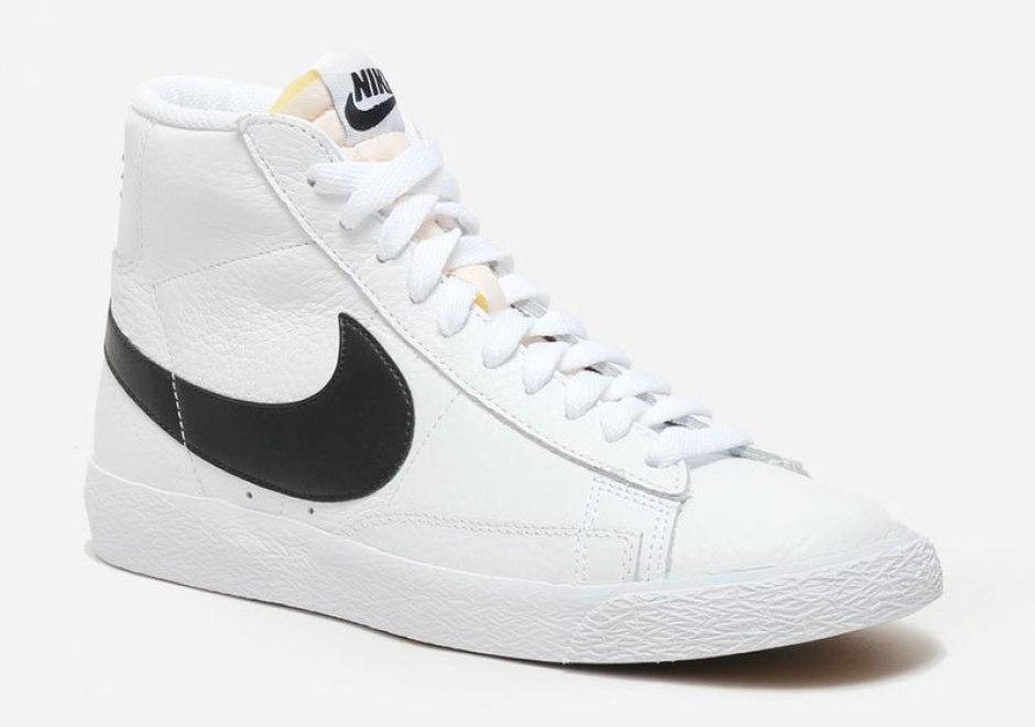 check out 302ab 25a24 ... Nike Blazer Mid WhiteBlack