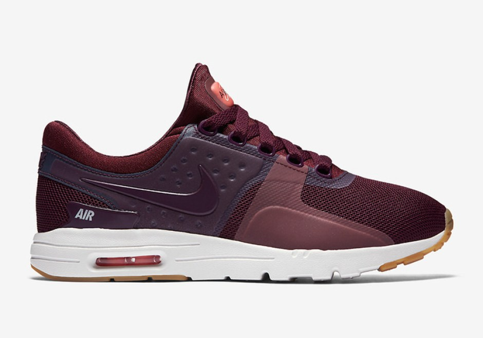 official photos 3db89 5361e Nike Air Max Zero Maroon Gum