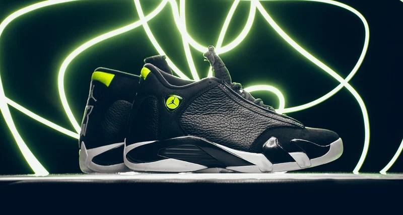 size 40 6065b c6e74 ... Air Jordan 14  First Look Air Jordan 14 Retro Indiglo  Nike Air Jordan  Retro 14 Oxidized Green ...